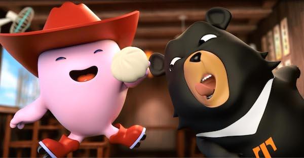 Q寶和喔熊