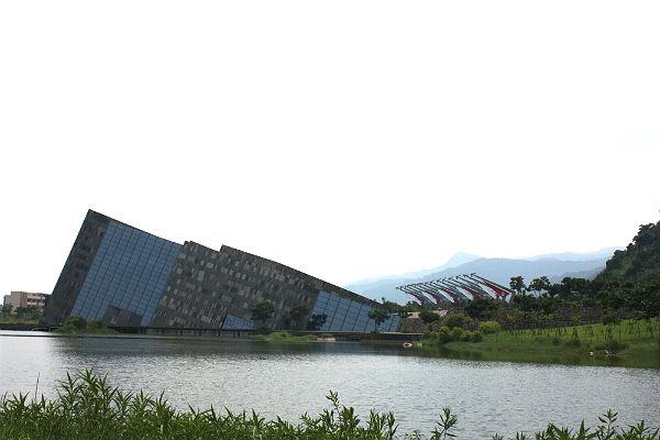 遠眺蘭陽博物館