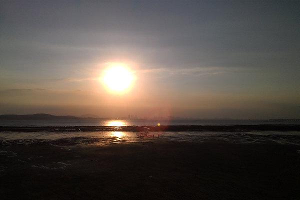 同安渡頭夕陽