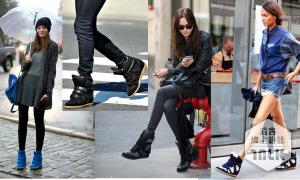 【旅行英文】出國購物不可不知──各類鞋款的英文!