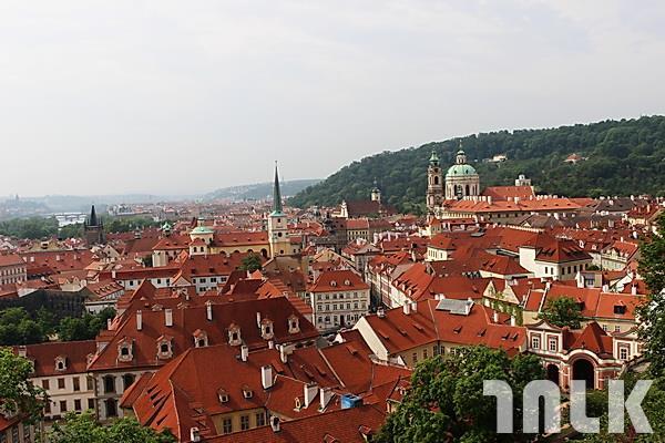 布拉格城堡-俯瞰風景.JPG