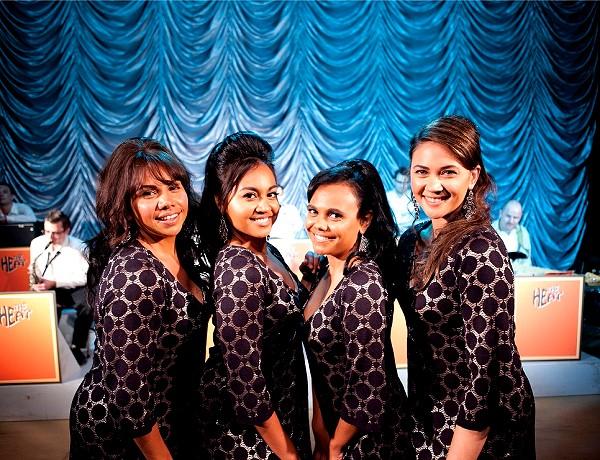 【閃亮女聲】描述4位原住民女孩組成合唱團 前往越南勞軍的故事(1)