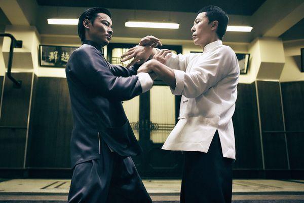 甄子丹與張晉在電影《葉問3》中有 精彩詠春對戰1.JPG
