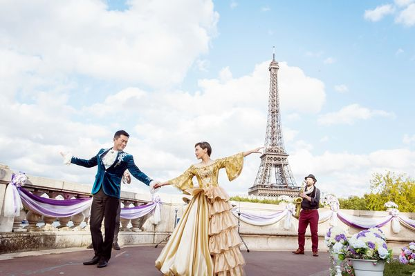 古天樂和郭采潔在《巴黎假期》大跳浪漫華爾滋1.jpg