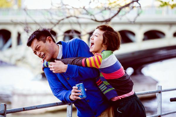 郭采潔在《巴黎假期》中行為失控 惡整室友古天樂3.jpg