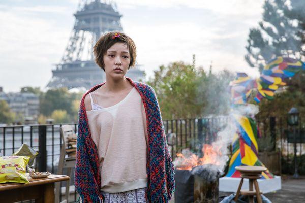 郭采潔在《巴黎假期》飾演失戀失婚又失業的女畫家.jpg