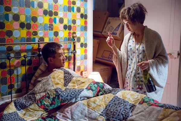 郭采潔在《巴黎假期》中行為失控 惡整室友古天樂2