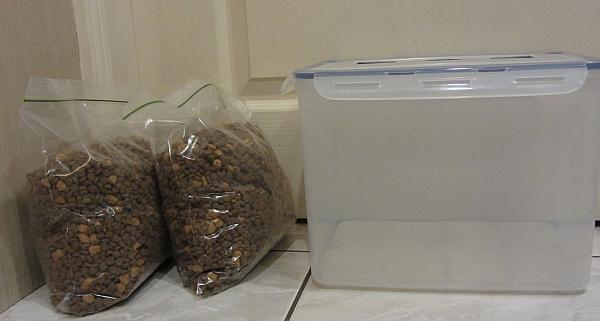 乾飼料保存--密封袋.密封盒