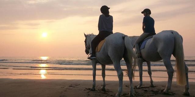 騎馬踏浪漫步淡水沙灘.jpg