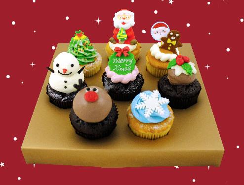xg閃耀聖誕杯子蛋糕8入禮盒.jpg.jpg