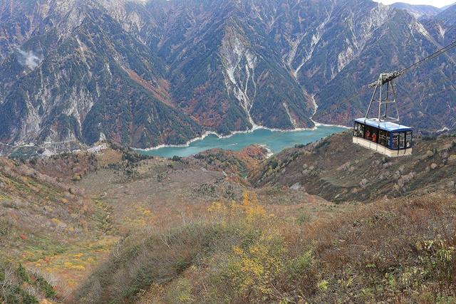 07從大觀峰可以俯瞰整個黑部水庫的楓紅。(圖片提供|立山黑部觀光株式會社).jpg