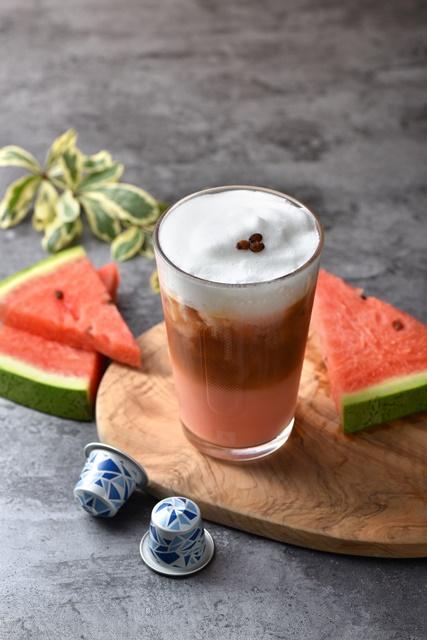 紅通通西瓜咖啡牛奶.JPG