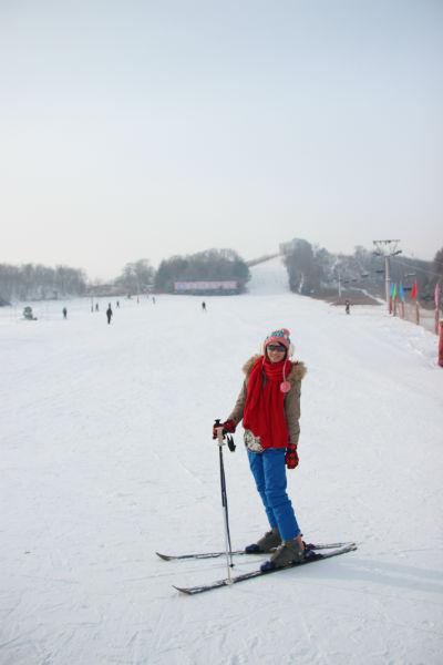 滑雪體驗,考驗自己的運動神經。(圖片來源:轉載自旅遊滔客)
