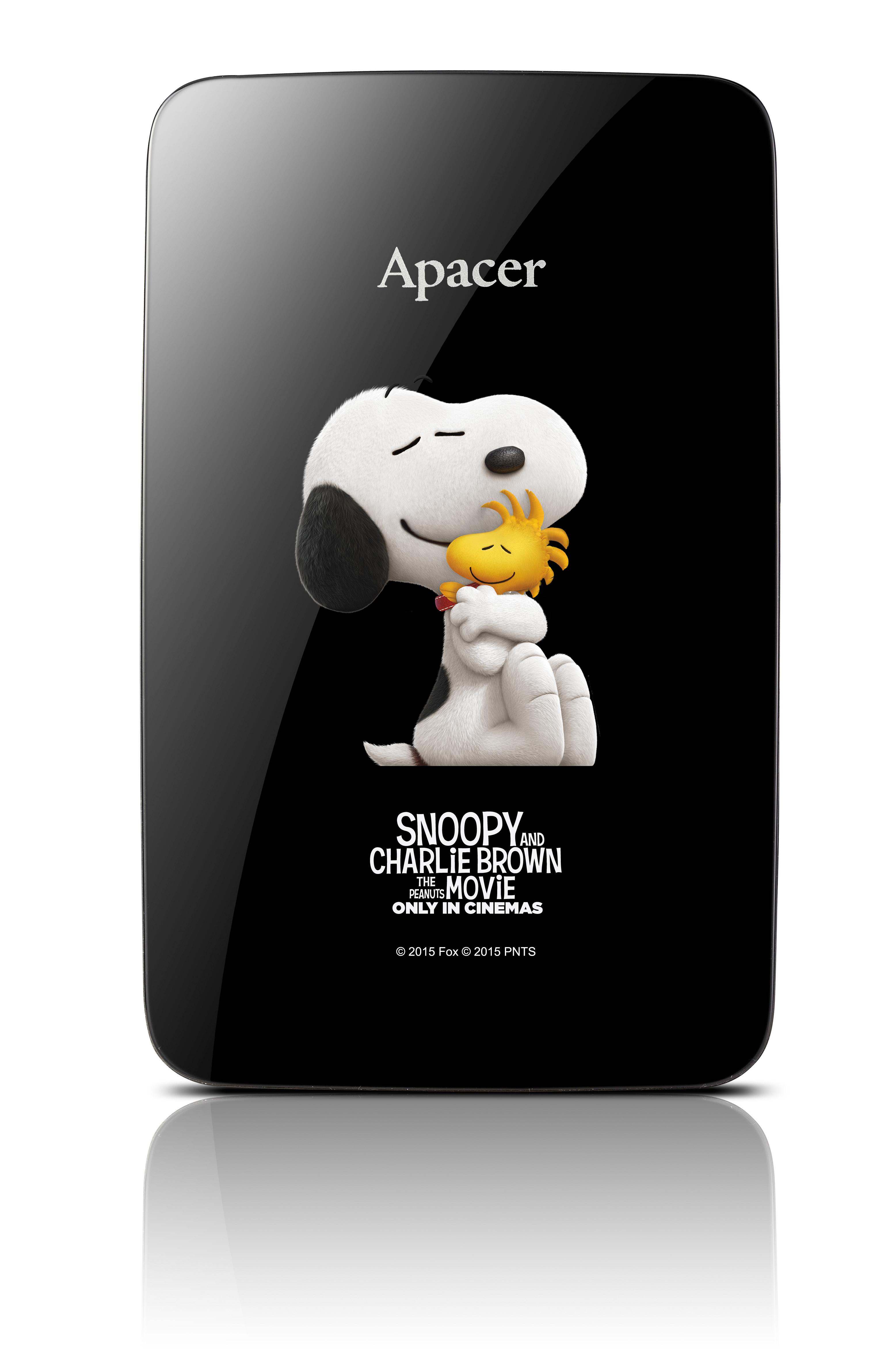【Apacer X 史努比】AC233行動硬碟