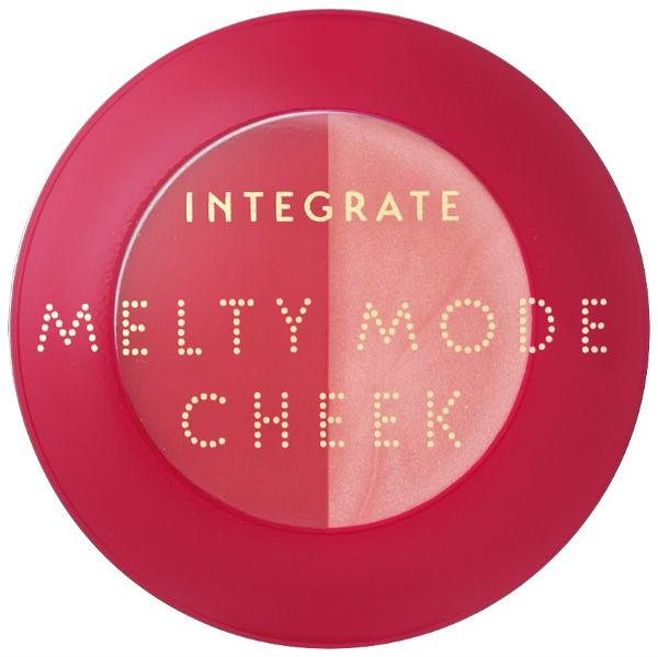 (正面合蓋)INTEGRATE/微醺雙色頰彩霜【RD483_】/2