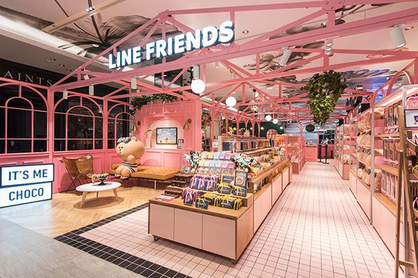 LINE FRIENDS Cafe
