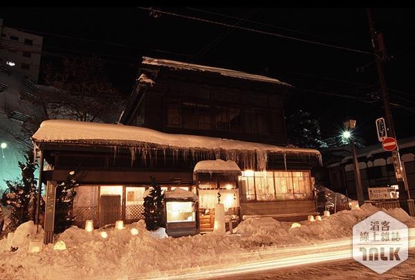 小樽冰雪街景