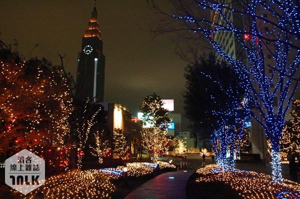 新宿空中遊城燈飾