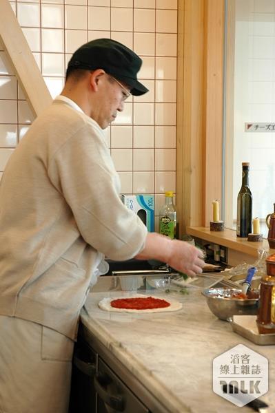 做披薩的師傅
