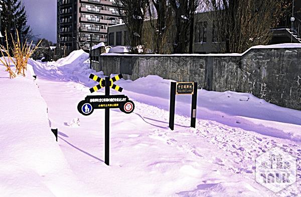 舊JR手宮線雪景