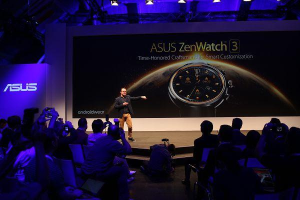 IFA 2016 圓形智慧錶ASUS ZenWatch 3。.jpg