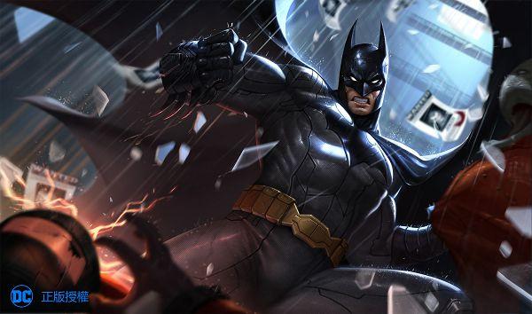 高譚市的黑暗騎士-超級英雄蝙蝠俠.jpg
