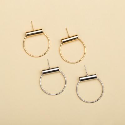 狙擊你.耳環 (金色 / 銀色)|飾品外盒是婊姐簽名款唷!