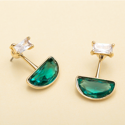 Spotlight.耳環 (綠色 / 藍色)|飾品外盒是婊姐簽名款唷!