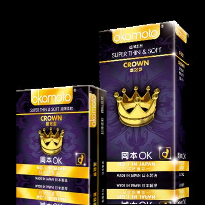 岡本皇冠型保險套(10入)