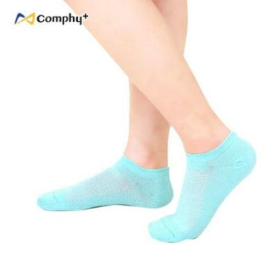 輕薄透氣船型襪-湖水藍(M/L)