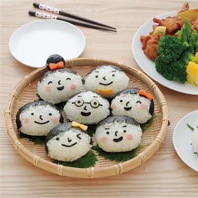 Arnest創意料理小物 全家福表情圖案飯模組
