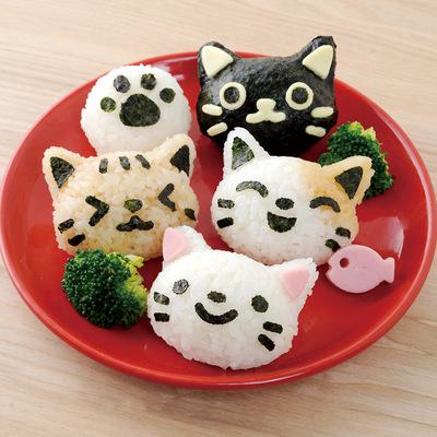 【Arnest】可愛貓咪飯糰模型