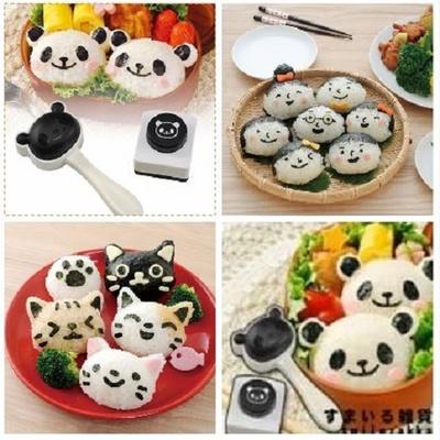 Arnest熱銷飯糰模型三入(全家福+可愛貓咪+可愛熊貓) 免運組