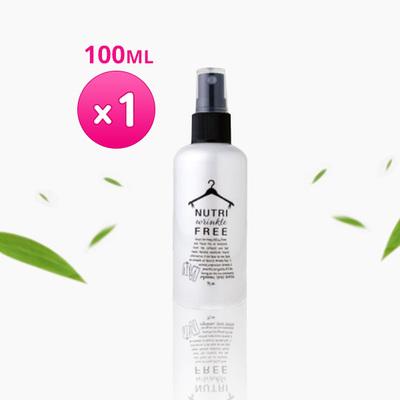 【韓國熱銷】衣物除皺噴霧100ML x 一瓶|1秒鐘除去臭味、3秒鐘修復平整
