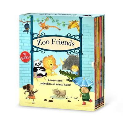 Zoo Friends Slipcase(盒裝10 Books)