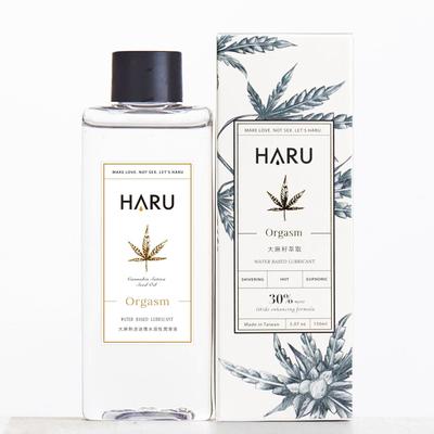 【HARU】ORGASM大麻熱浪迷情熱感潤滑液150ml