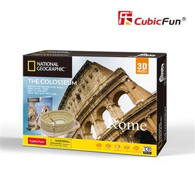 國家地理頻道授權3D立體拼圖-旅行者系列-羅馬競技場